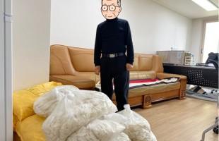 [분관] 광교공공실버주택 임차인 대표회, 떡국떡 후원